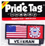 VIEW Coast Guard Veteran Pride Tag
