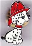 VIEW Fire House Dog Hat Pin