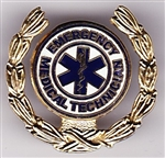 VIEW Emerg Med Technician Hat Pin