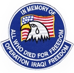 VIEW Operation Iraqi Freedom Patch