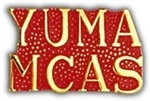 YUMA MCAS Script Hat Pin (Limited)