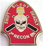VIEW 2nd Recon Lapel Pin