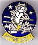 VIEW F-14 Tomcat Anytime Baby Lapel Pin