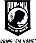 VIEW POW/MIA Window Sticker