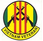 VIEW Vietnam Veteran Window Sticker