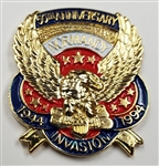 VIEW 50th Anniv Normandy Invasion Lapel Pin