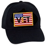 US Flag With Vietnam Vet BALL CAP or PATCH