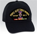 VIEW Vietnam Combat Wounded Ball Cap