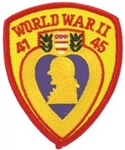 World War II Purple Heart PATCH