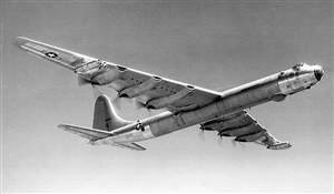 B-36H in flight