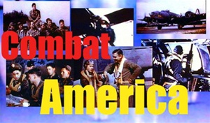 Color photos from the film Combat America, starring Clark Gable and the B-17s and men of the 351st Bombardment Group, 8th Air Force, flying from England against Nazi Germany.