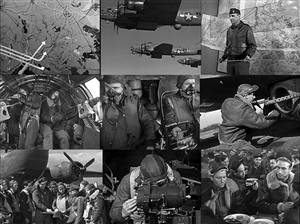 Photos from the classic World War 2 bomber documentary film Target for Today.
