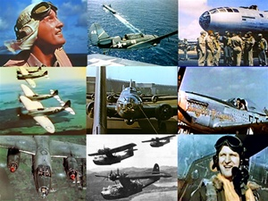 Still photos taken from the more than 140 films in Zeno's Complete World War 2 Warbird Video Collection.