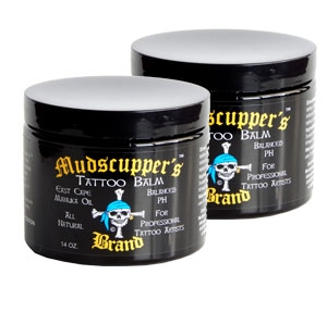 Professional Tattoo Balm by Mudscupper's 14 oz. Wholesale