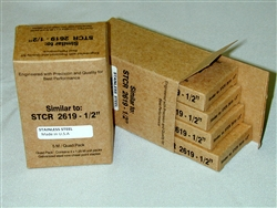 "STCR2619 1/2"" Staples - Stainless Steel - Made in U.S.A"