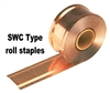 "SWC7437 3/4"" Roll Carton Closing Staples"