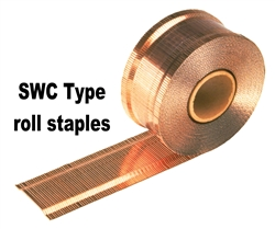 "SWC7437 5/8"" Roll Carton Closing Staples"