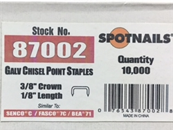 "7103 1/8"" Upholstery Staple (CALL 781-769-6610 FOR AVAILABILITY )"