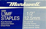 "L3MF 1/2"" (12.5 mm) Staples • OUT OF STOCK UNTIL MAY 2018"