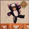 Outfit  - Yu Ping Black Cat Costume  HC0044A