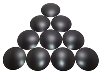 10 Count - 3.25 inch Poly Dome Dust Caps
