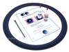 Renkus-Heinz SSL 18-9F 18 Inch Speaker Cloth Surround Repair Kit
