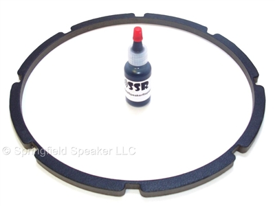 10 inch Pro-Grade Vinyl Finish Speaker Gaskets