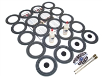 Complete Bose 901, 902, 801, 802 Speaker Foam Surround Repair Kit