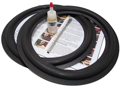 12 inch Pioneer Angle-attach Speaker Foam Surround Repair Kit