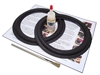 8 inch Standard Speaker Foam Surround Repair Kit - Angle-attach