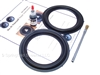 "2 Butyl Rubber 6.5"" Speaker Surround Repair Kit - Woofer"