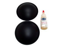 "4.5"" Poly Dome Speaker / Subwoofer Dust Cap Kit"