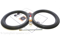10 inch tall roll Audioque Speaker Foam Surround Repair Kit