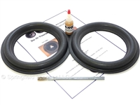 8 inch tall roll Audioque Speaker Foam Surround Repair Kit