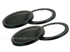 2 Pack of 5-1/4 Inch Heavy-Duty Subwoofer Speaker Cover Grills - Car, Pro or Home Audio