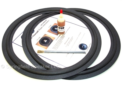 15 inch Narrow-roll Pioneer Speaker Foam Surround Repair Kit
