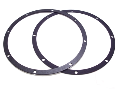 2 Rear Speaker Mounting Gaskets 10""