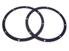 2 Rear Speaker Mounting Gaskets 8""