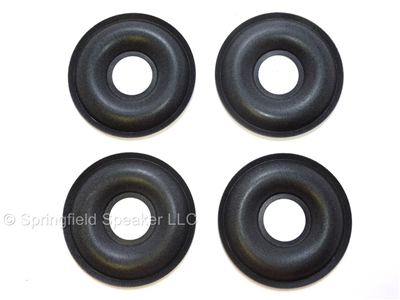 4 KEF Donut Foam Dust Caps