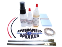 Pro Speaker Reconing Kit - CA Glue included
