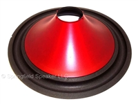 "15 Inch Poly Subwoofer Cone with Foam Surround - For 2.7"" Voice Coil"