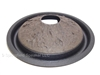 10 inch Shiny Finish Kevlar Pulp Subwoofer Cone with Foam Surround - Tall Roll