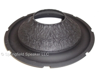 10 inch Kevlar Pulp Subwoofer Cone with Rubber Surround