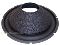 15 inch Kevlar Pulp Subwoofer Cone with Rubber Surround