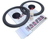 10 inch Complete Dahlquist Speaker Foam Surround Repair Kit