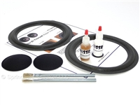 8 inch Complete Dahlquist Speaker Foam Surround Repair Kit
