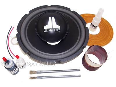 Genuine JL Audio 10W6 Recone Kit + Install Kit - NOT for 10W6v2