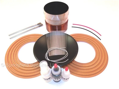Aftermarket Alpine Type R 12 Subwoofer Recoil Kit - Dual 4 Ohm