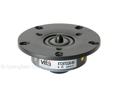 Vifa XT25TG30-04 1 inch Dual Ring Radiator Tweeter - 140 Watts, 4 Ohms