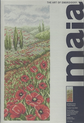 Maia Counted Cross Stitch - Tuscan Horizon